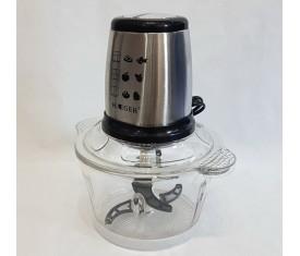 """Блендер, измельчитель """"Haeger"""" HG7005A Стеклянный чоппер 500Вт 2скорости"""