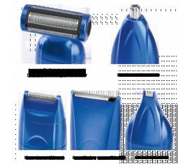 Триммер для волос и тела Profi Care PC-BHT 3015