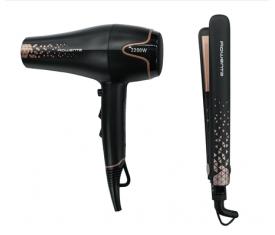 Фен і праска, набір для укладання волосся Rowenta YD3059F0 Copper Forever
