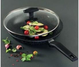 Сковорода с мраморным покрытием Tiross 28 см